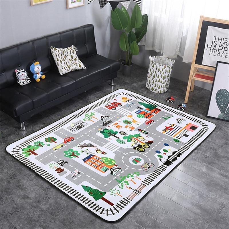 Mignon bébé ramper tapis épaississement enfant jouer tapis bébé chambre chronique rebond tapis grimper un Pad Non-toxique cadeaux de noël
