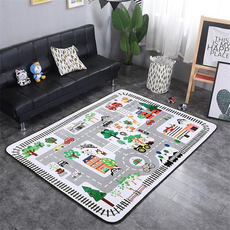 bonito bebe engatinhando tapete espessamento tapetes de jogo do bebe da crianca sala tapete escalar uma