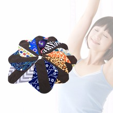 Feminine Hygiene Menstrual Pads Mama Cloth Organic Bamboo Inner Washable Reusable Sanitary Pads Panty Liner Sanitary Towels Pad