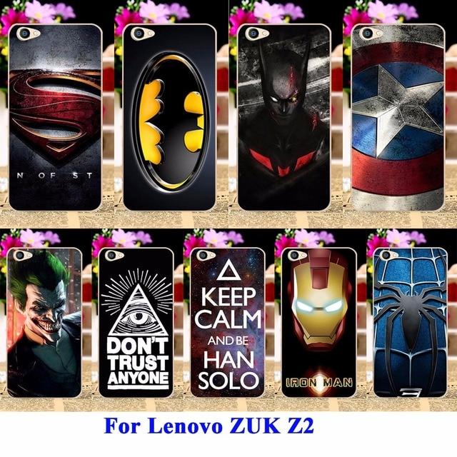 AKABEILA Cases For Lenovo ZUK Z2 5.0 Inch Housing Covers Skin Protector Sheath Durable Back Shell Captain American Batman Bags