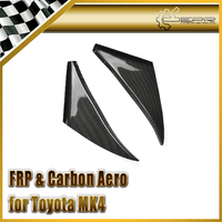 Car styling For Toyota MK4 Supra Carbon Fiber Front Bumper Canard In Stock