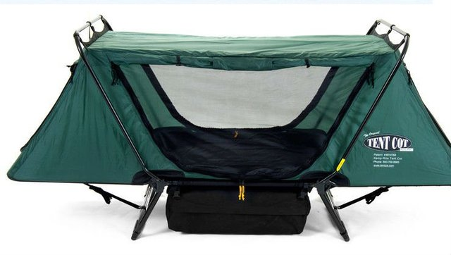 Kamp Rite Double Tent Cot Rainfly Outdoor Camping Hunting