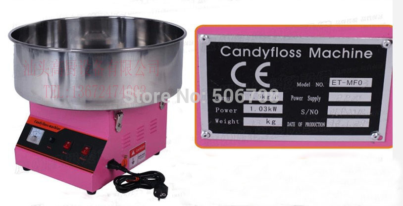 Free shipping with CE certification Commercial cotton candy maker candy floss machine professional cotton candy floss machine cotton candy vending machine with low price