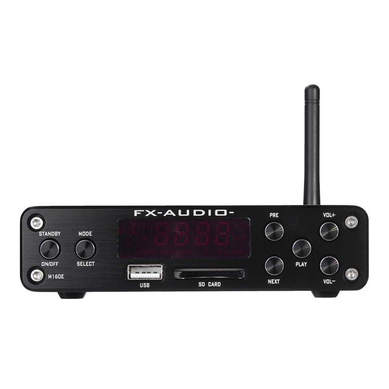 Bluetooth Loseless Home Stereo Mini Amplifier Input Subwoofer Amplifier Wireless Tube Amplificador Audio Power HIIFI Player