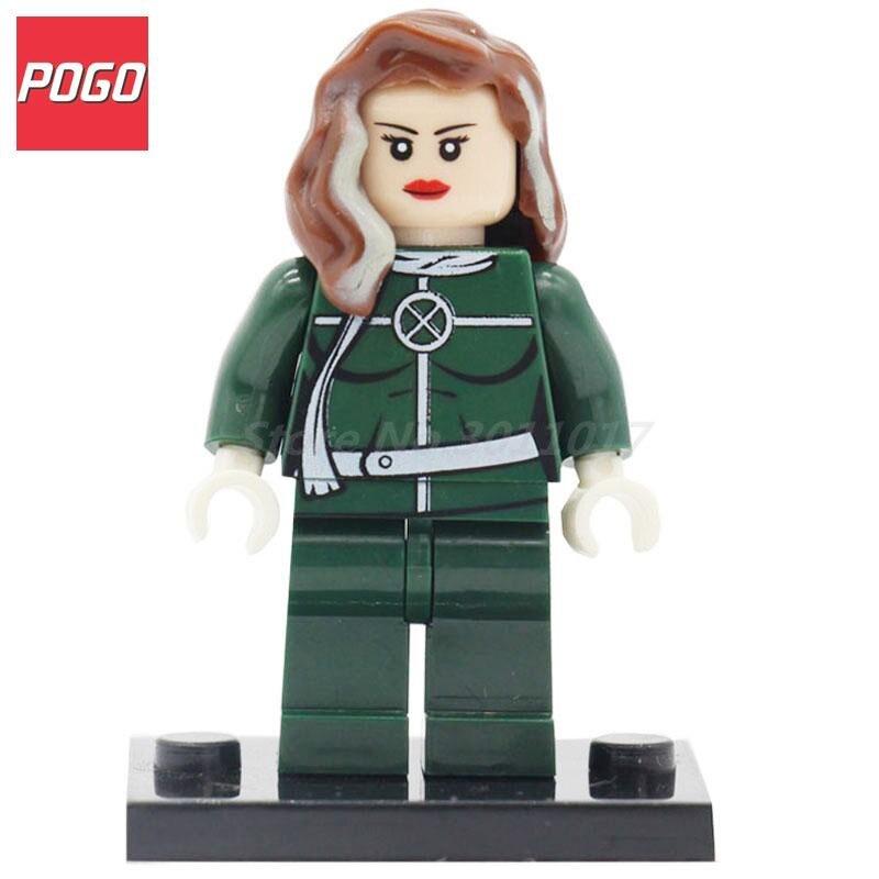 POGO Superes Heroes Avengers Rogue Bricks Toys Building Blocks Model Sets Single Sale PG031 Classic Children