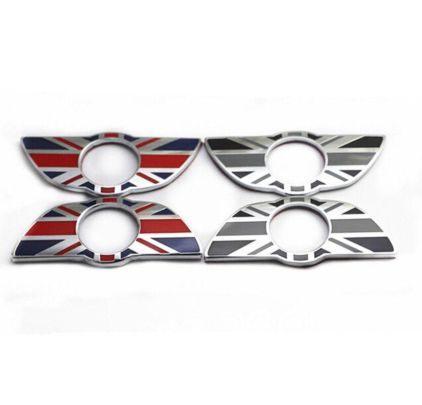 Car Door Pin/Lock Stickers Original Replacement Exclusive for Mini Countryman Cooper Metal Wings Modified Decoration UK flag