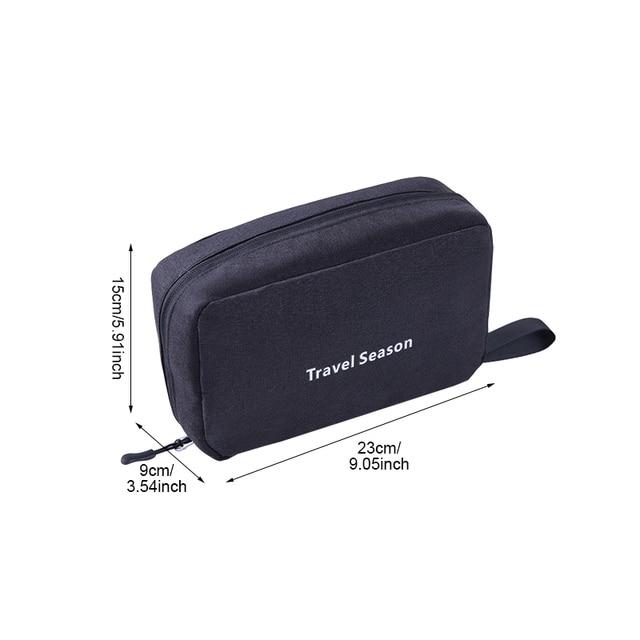 Travel Hanging Cosmetic Bag Women Makeup Organizer Beauty Washing Toiletry Kits Case Female Zipper Handbag Wholesale Accessories 1