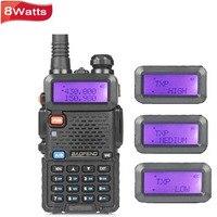 BaoFeng UV 5R 8W Walkie Talkie Dual Band VHF UHF Handheld Two Way Radio CB Ham Radio Baofeng Portable Radio UV5R