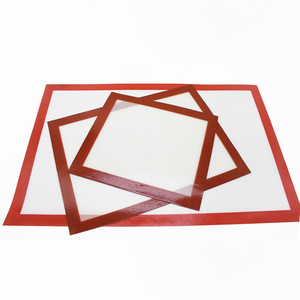 Image 3 - Non Stick Silicone Baking Mats Cookie Pad Rolling Dough Mat High Temperature Resistant Glass Fiber Batters Flour Fondant