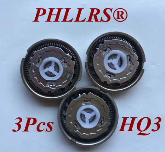3pcs replace head razor blade for philips shaver HQ3 HQ4 HQ55 <font><b>HQ56</b></font> hq46 hq44 HQ6640 HQ6645 HQ6675 HQ6676 HQ6695 HQ6696 HQ6425 image