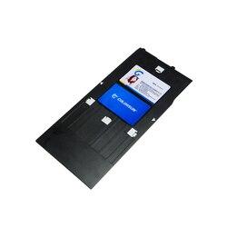 Do drukarek atramentowych identyfikator z PVC taca z tworzywa sztucznego drukowanie kart taca do projektora Epson R230 R300 R200 R340 R210 R350 R220 R310 R320 G700 w Tace drukarki od Komputer i biuro na