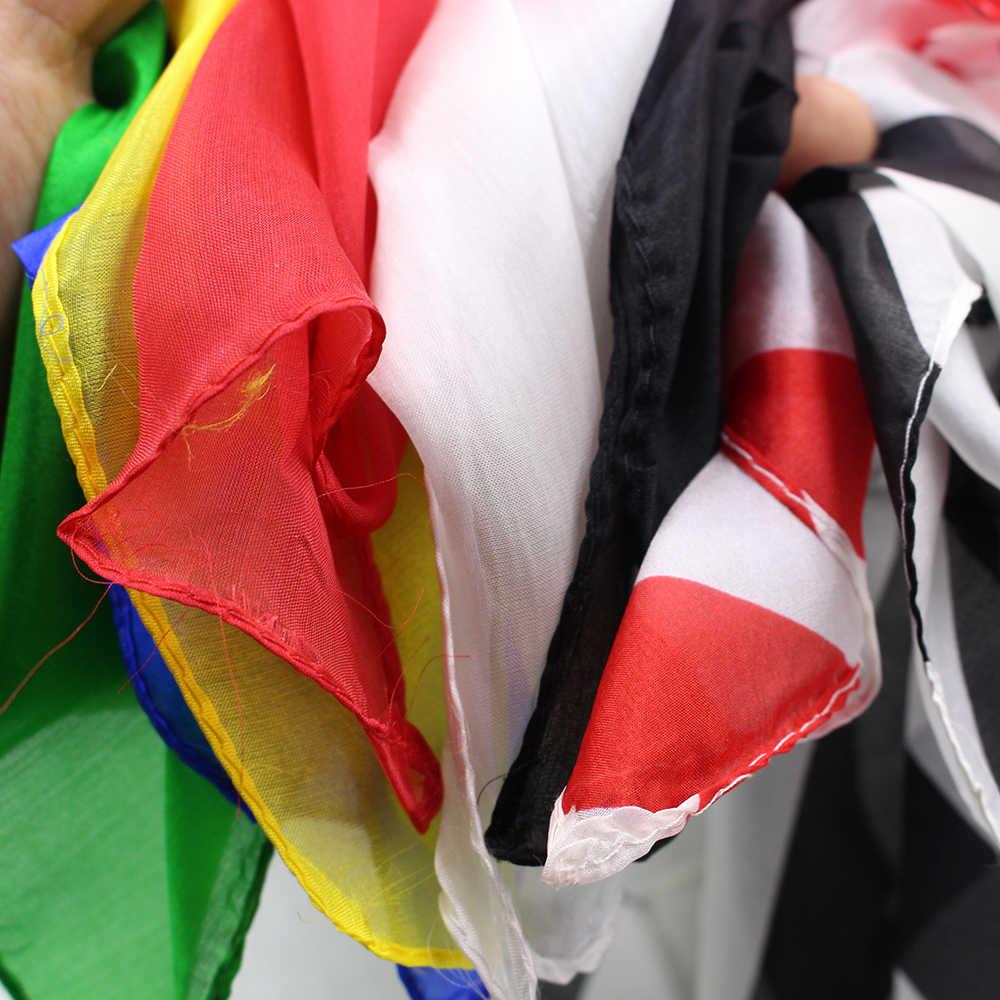 Появляющиеся шелковые шарфы сценические магические трюки игрушки-реквизиты Профессиональный волшебник