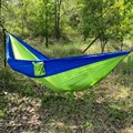2016 NEW Solid Portable Outdoor Camping Holiday Beach Outdoor Parachute Cloth Hammock 230*90cm