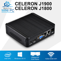Mini PC Celeron J1900 Quad Core 2 Intel 82583V Gigabit Ethernet Celeron J1800 Mini Computer Pfsense