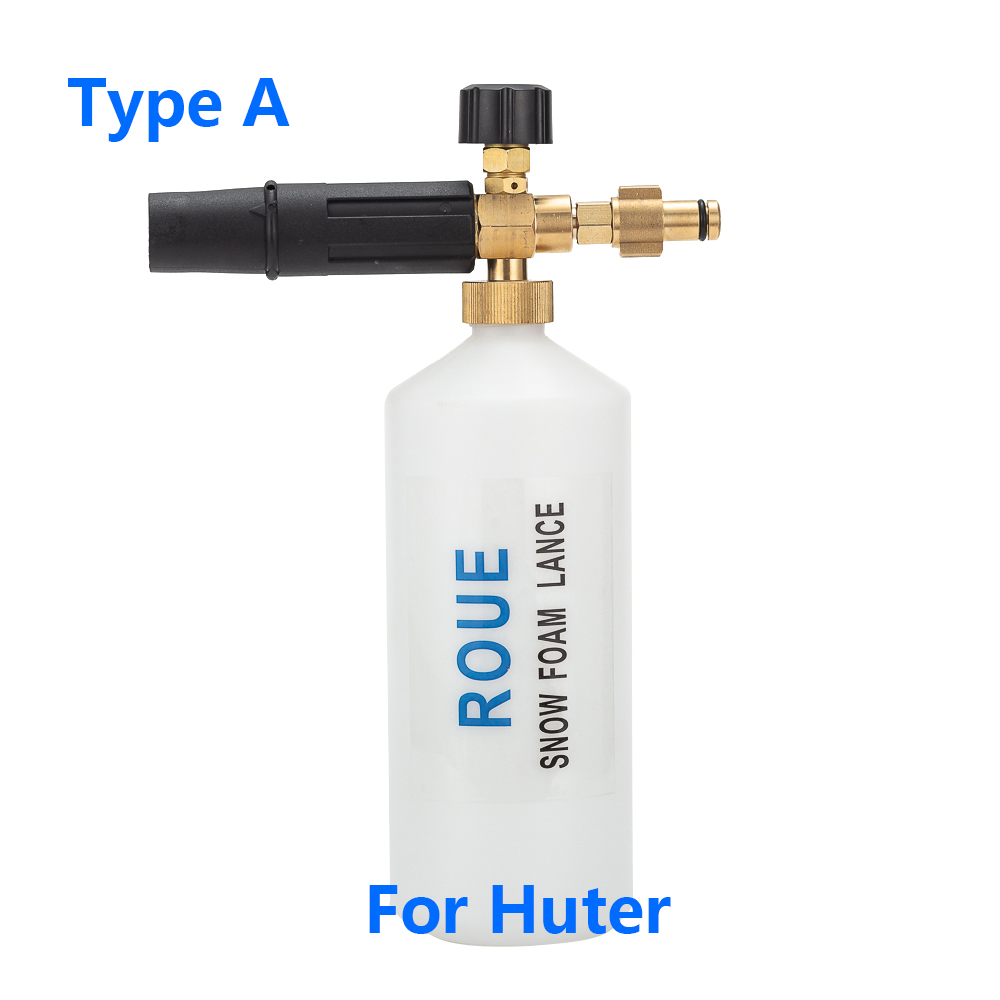 Image 2 - High Pressure Washer Foam Generator/ snow foam lance sprayer for Huter W105 P(New) M135 PW(New) M165W PW (New) 165QL 195QL-in Water Gun & Snow Foam Lance from Automobiles & Motorcycles