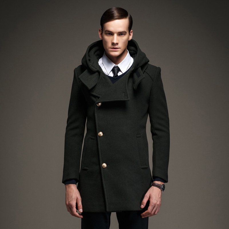 Aliexpress.com : Buy Mens Pea Coat 2015 Men'S New Winter Peacoat ...