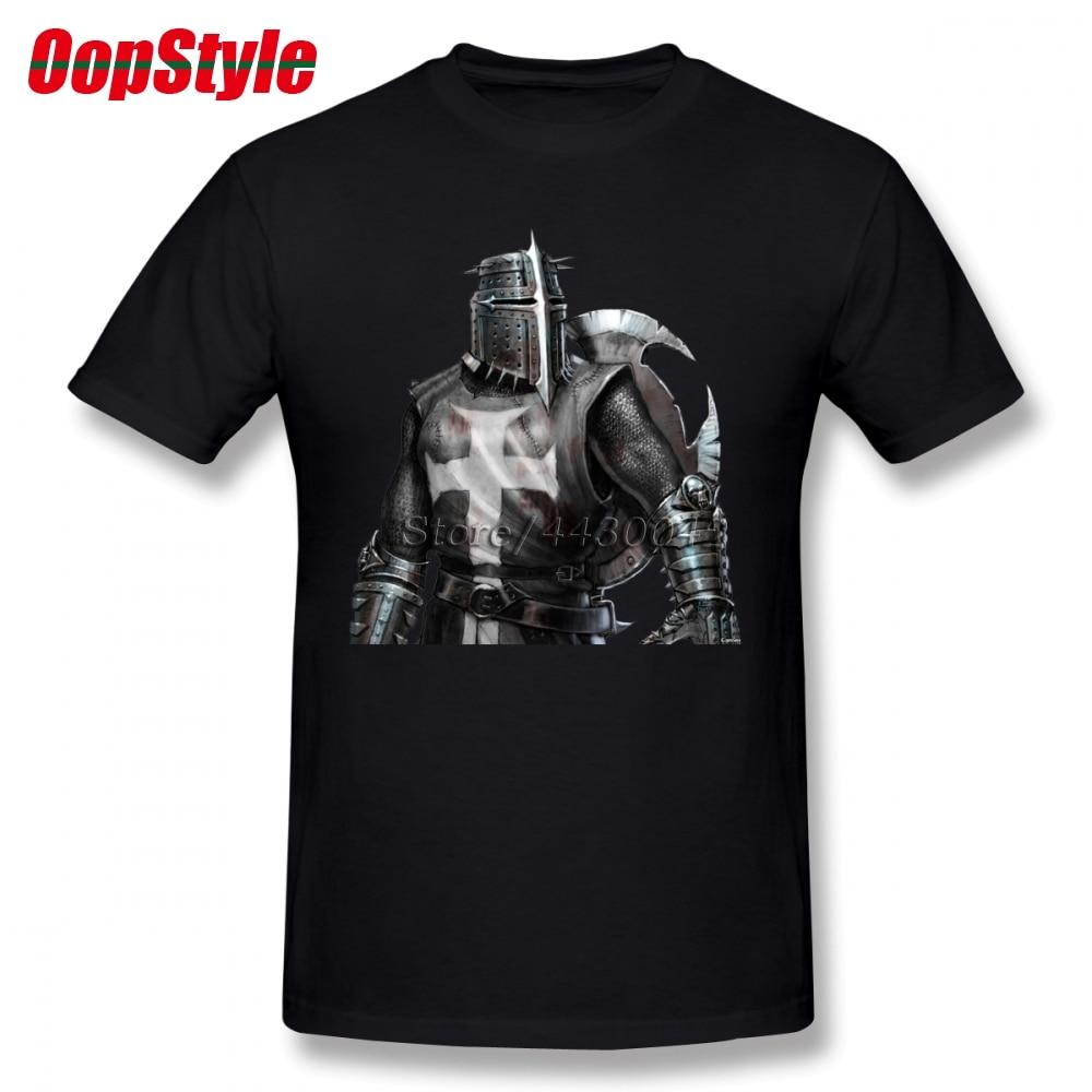 The Knights Of Templar T-shirt For Men Dropshipping Summer Short Sleeve Cotton Plus Size Custom Team Tee 4XL 5XL 6XL