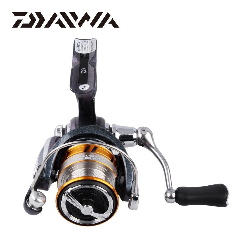 DAIWA REGAL LT pêche spinning reels 1000D 2000D 2500D 2500DXH 3000DC 3000 DCXH 10BB Air Rotor Bobine En Aluminium De Pêche roues - 2
