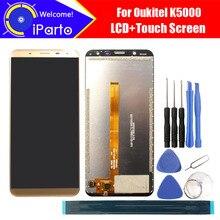 5,7 zoll Oukitel K5000 LCD Display + Touch Screen Digitizer Montage 100% Original Neue LCD + Touch Digitizer für K5000 + werkzeuge