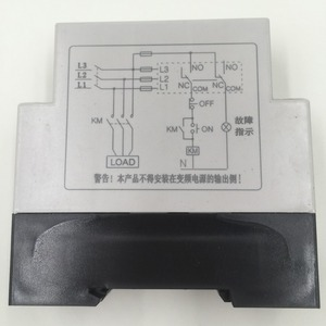 Image 2 - הגנת נחשול וundervoltage שבור רצף שלב מגן/אספקת חשמל תלת פאזי צג ממסר ginri JVRD 380