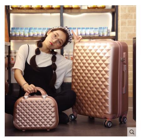 Funda de equipaje enrollable para mujer maleta de viaje maleta con ruedas maleta de equipaje 20 pulgadas 24 pulgadas 26 pulgadas maleta con ruedas-in Bolsas de viaje from Maletas y bolsas    3
