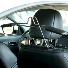 car hangers for clothes coat suit Scalable Convenient headrest chair Seat storage holder rack stainless steel