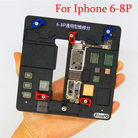 High Temperature IC Chip Motherboard Jig PCB Holder For iPhone 8 8P 7 7P 6 6P 6S 6SP Mobile Phone Repair Tools Kit