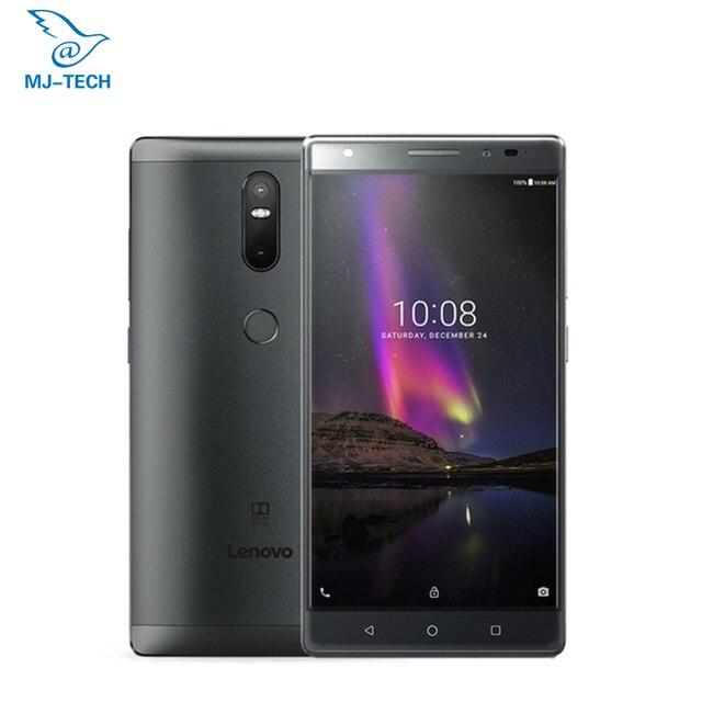 99% neue Lenovo Phab 2 plus PB2-670N 3G 32G 6,44 zoll 1920*1080 Android 6.0 OS MTK8783 octa core fdd 4G 4050 mAh Mobile telefon