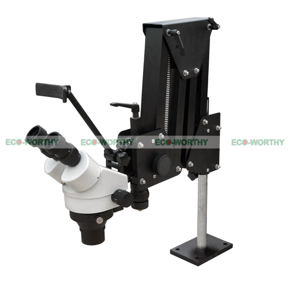 Micro Inlaid Mirror Multi-directional Micro-setting Microscope Jewelry Tools ECO