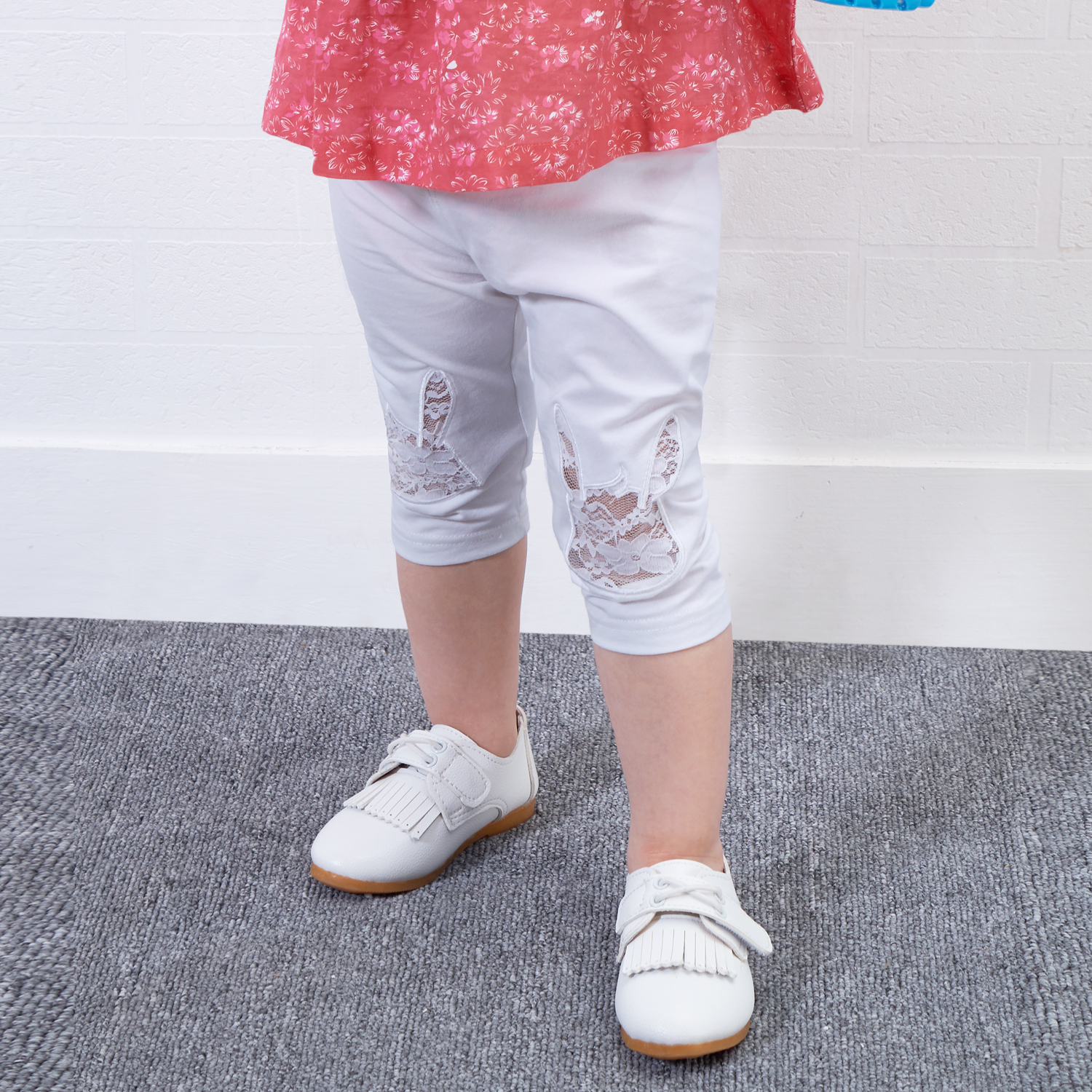 Yingzifang Direct Selling Time-Limited Skinny Mid 2017 Girls Baby Summer Leggings Pants Children Cotton Cartoon For Kids Long