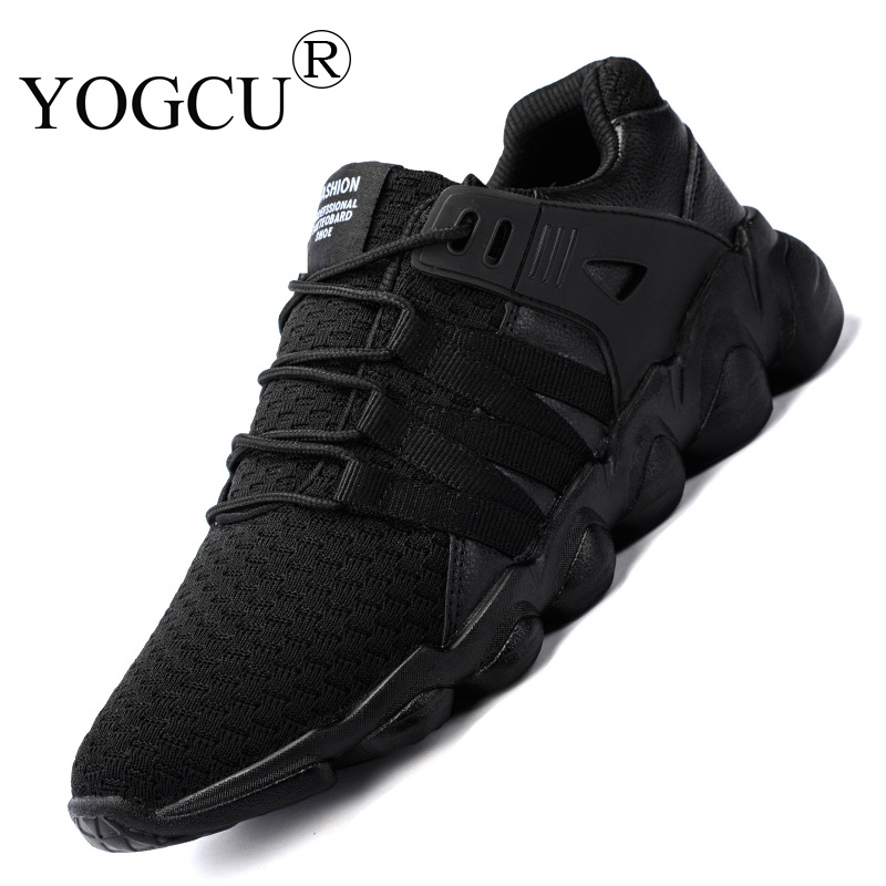 Mens sports shoes Sneakers mesh breathable fly weave youth non-slip cushioning Superstar running shoes