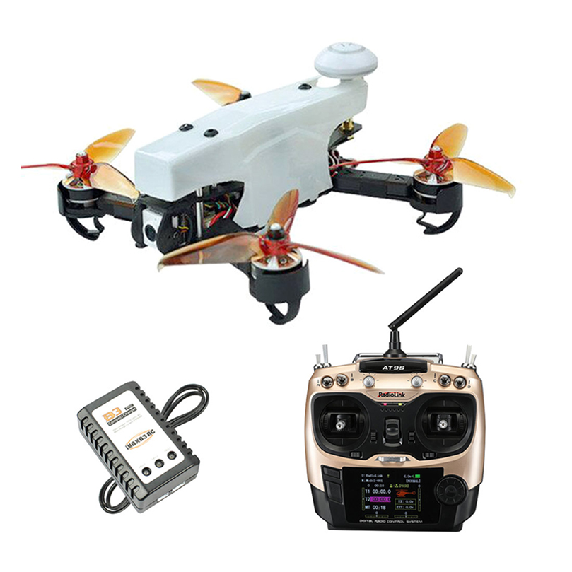 JMT 210 FPV Racing Drone Quadcopter RTF with Radiolink AT9S TX RX 100KMH High Speed 5.8G FPV DVR 720P Camera GPS OSD Mini PIX