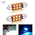 Автомобильная лампа Canbus 3030SMD C5W C10W, 31/36/39/41 мм, 2 шт./лот