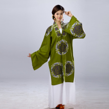 Unisex Dramatic clothes clothing costumes beijing opera Traditional Huang mei yue  Opera Dramaturgic Costume Robe Dress
