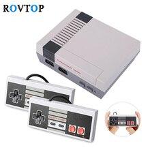 Retro TV oyun konsolu 8 Bit video oyunu Konsolu Dahili 620 El Oyun Çalar AV Bağlantı Noktası ile Çift Denetleyici Z2