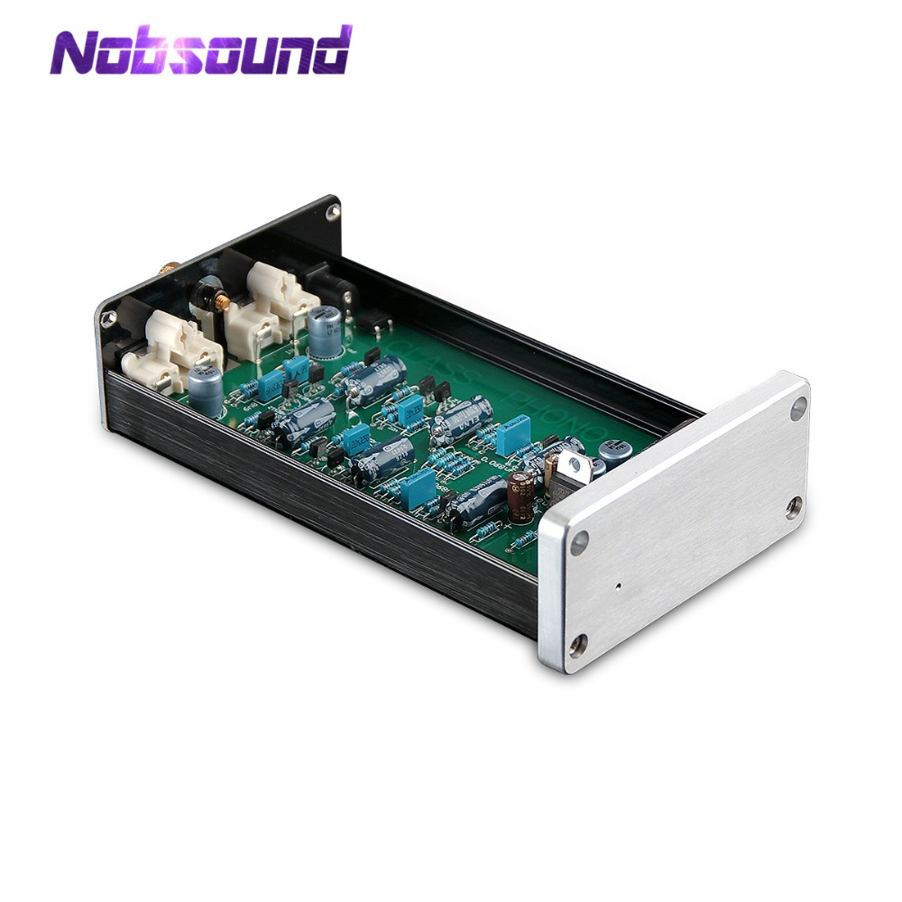цена на Nobsound Mini Pure Class A HiFi MC Phono Preamplifier LP Vinyl Record Player Turntable Pre-Amp