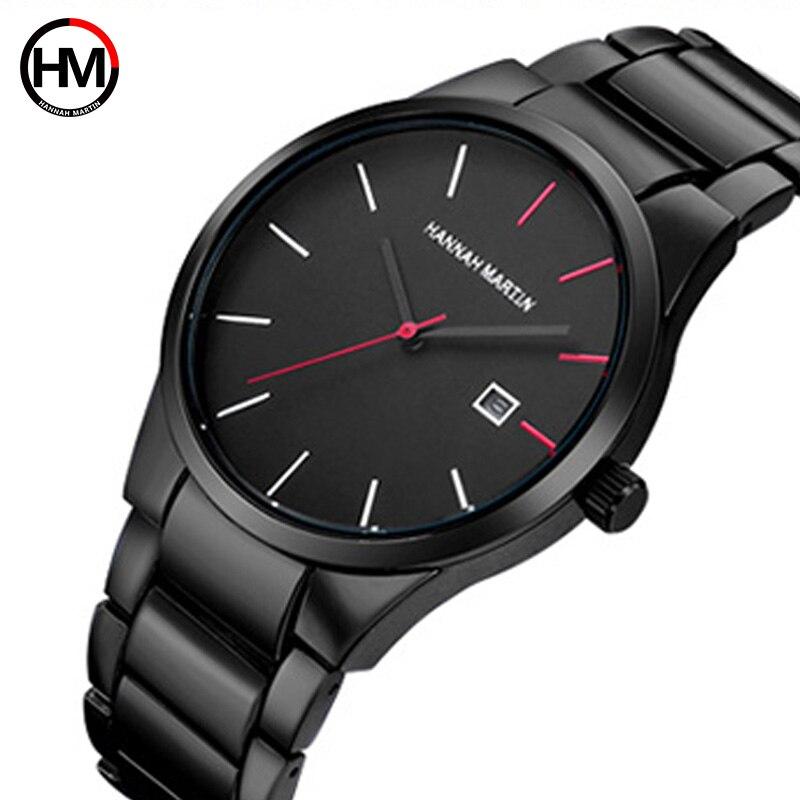 Top Brand Luxury Men Watch Pulsera de acero inoxidable deportivo - Relojes para hombres