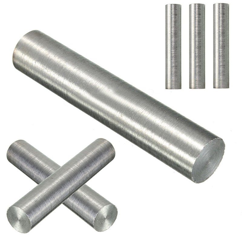 1pc High Purity Round Tungsten Metal Rod Bar 10mm Diameter Length 50mm With High Hardness