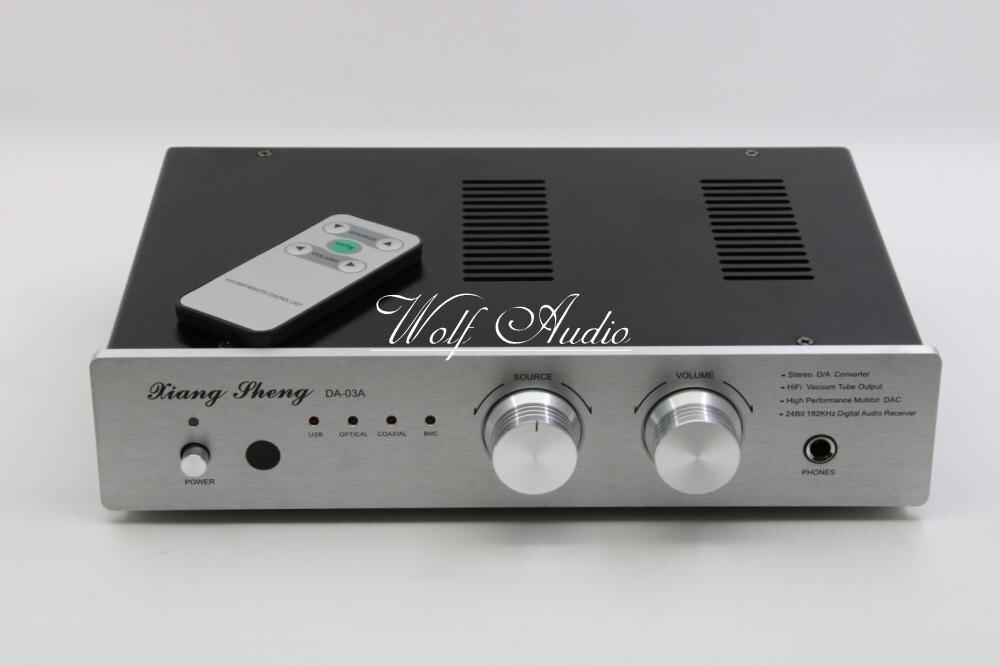 Fini DAC-03 6H3N Tube DAC Préampli AK4495 SA9023 USB Audio Décodeur HiFi Amplificateur