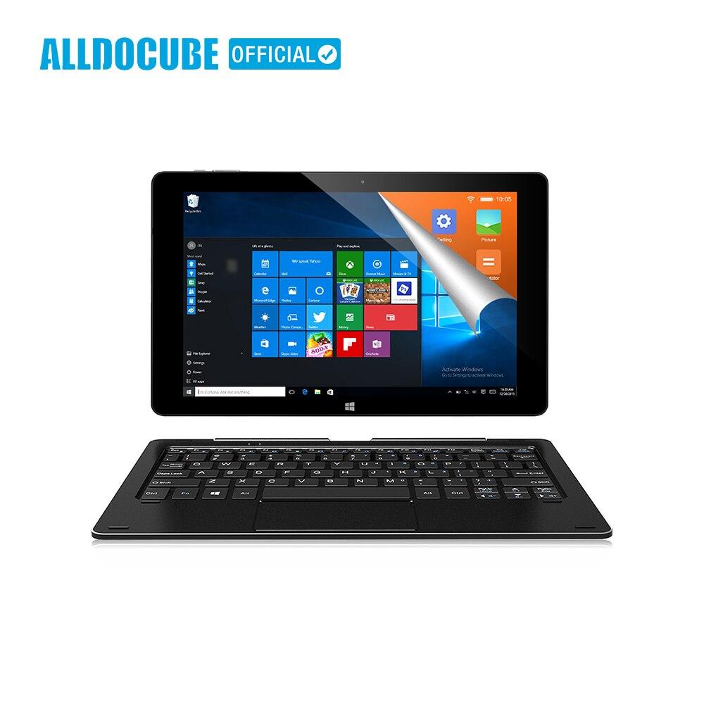 ALLDOCUBE 10,1 Планшеты PC iwork10 Pro полный вид ips 1920*1200 Windows10 + Android5.1 Intel Atom x5-Z8350 4 Гб Оперативная память 64 Гб Встроенная память планшет