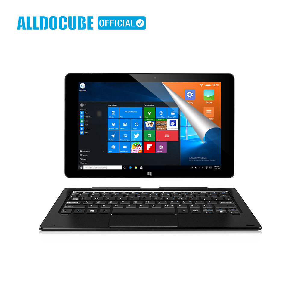 ALLDOCUBE 10.1 Comprimés PC iwork10 Pro Pleine Vue IPS 1920*1200 Windows10 + Android5.1 Intel Atom x5-Z8350 4 GO de RAM 64 GB ROM Tablet
