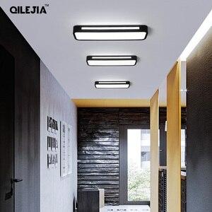 Image 4 - Moderne Led Decke Lichter Für Korridor Balkon für wohnzimmer schlafzimmer restaurant home rechteckigen decke lampe beleuchtung