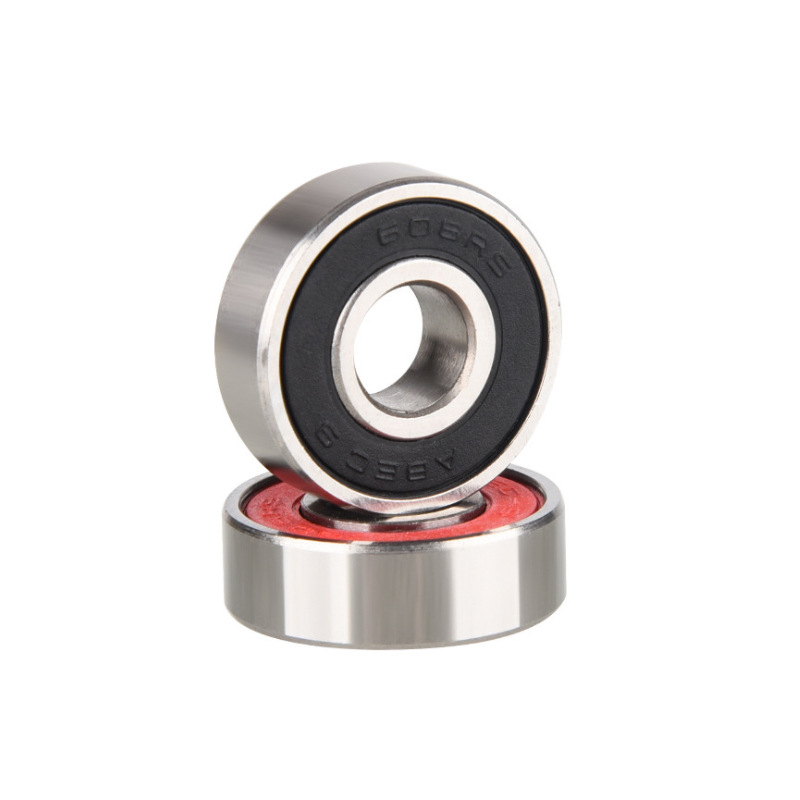 4Pcs ABEC 608 Skate Scooter Skateboard Wheels Spare Bearings Ball Roller Highest Precision Shafts Bearing steel 608RS