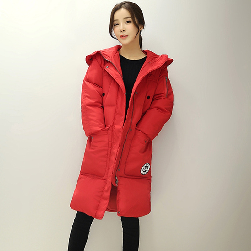 2017 NEW HOT SALE WINTER LOVERS JACKERS MEDIUM LENGTH HOODED THICKEN WARM LOVERS PARKAS  ...