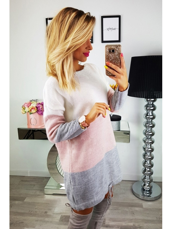New Maternity Sweater Dress Women Clothes 2018 Striped Long Sleeve Pregnancy Dresses For Pregnant Robe Vestidos Embarazada S-XL (5)