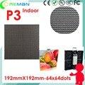 Али прямой низкая цена бесплатная доставка p3 3 мм rgb матричный светодиодный пиксель модуль 192 мм х 192 мм/этап DJ привело аренда экрана видеостены p4 p5