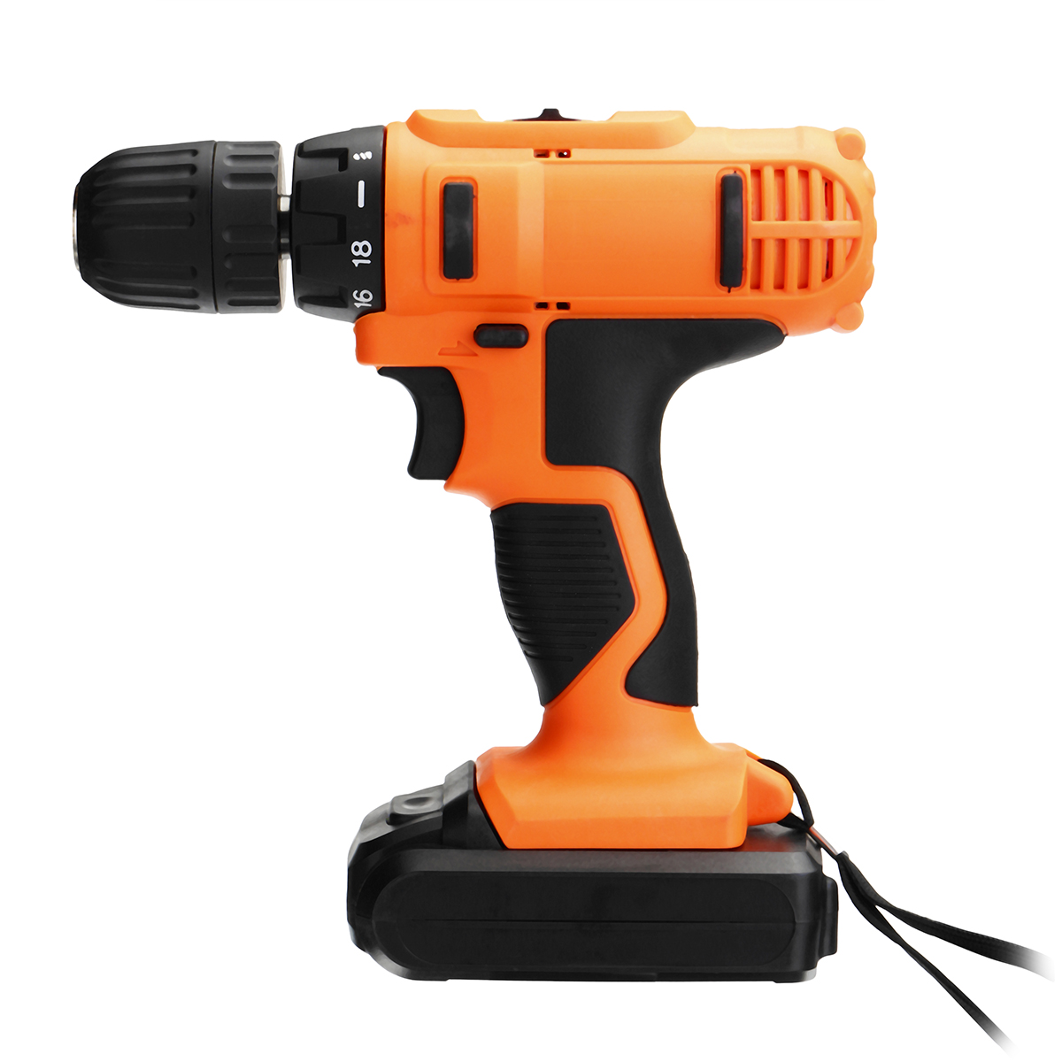 18V DC Lithium-Ion Battery Cordless Drill/Driver Power Tools Screwdriver Electric Drill with Battery Included