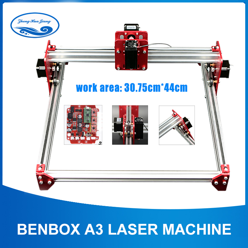 15w Big Power Laser Machine,BENBOX Software,A3 Laser Engraving Machine,all Metal Frame,DIY Mini Laser Engraving Machine,Advanced