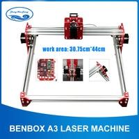 15w duża moc maszyna laserowa  oprogramowanie BENBOX  laserowa maszyna grawerująca A3  cała metalowa rama  DIY Mini laserowa maszyna grawerująca  zaawansowane w Frezarki do drewna od Narzędzia na