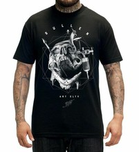 Sullen Kleding Tisho Badge Mens Tee Tattoo Kleding Art Collectieve Inkt(China)
